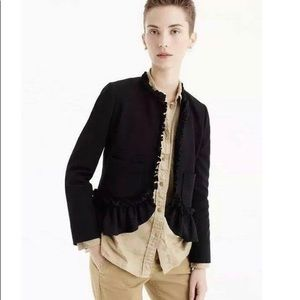 JCrew Going-out Jacket with Ruffles